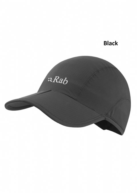 Rab Unisex Spark Cap / Peak Hat / Lightweight / Waterproof